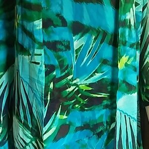 a.n.a Tops - A N A a new approach 3 piece tropical New sz XS